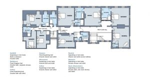 Hillend House First Floor Plan for website
